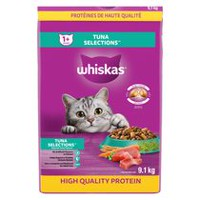 Whiskas with real Tuna, Dry Food for Adult Cats