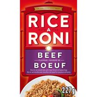 Rice-A-Roni Beef Flavour Rice and Vermicelli Mix with Beef Broth and Seasonings