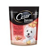 CESAR Bakies Bacon Roasted Chicken Flavour Dog Treats for Small Dogs