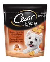 CESAR Bakies Peanutbutter and Honey Flavour Dog Treats for Small Dogs