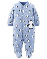 Child of Mine by Carter's Newborn Boys' Penguin Sleep n Play Outfit NB