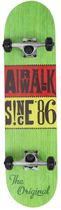 Unraveled Series Skateboard - Rasta