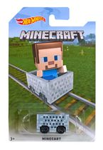 Véhicule Steve Minecraft de Hot Wheels