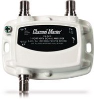 Amplificateur de distribution Ultra Mini à 1 voie 15dB (50-1000MHz) de Channel Master