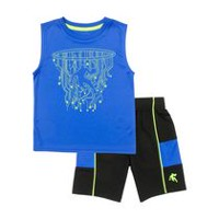 AND1 Toddler Boys' The Technician 2 Piece Outfit Set 4T