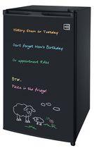 Frigidaire 3.2 cu. ft. Eraser Board Mini Fridge in Black