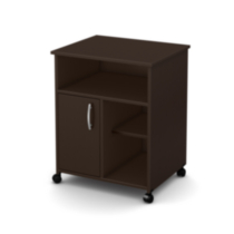 South Shore Smart Basics Collection Printer Stand Chocolate