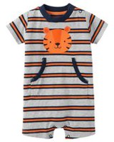 Child of Mine made by Carter's Baby Boys' Tiger Printed Outfit 6-9 months