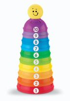 Fisher-Price Stack & Roll Cups