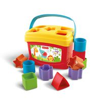 Fisher-Price Brilliant Basics Baby's First Blocks, 10 blocks