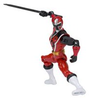 "Héros d'action de 5"" Power Rangers Ninja Steel - Héros d'action Ranger rouge"