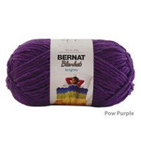 Bernat Blanket Brights Yarn Pow Purple