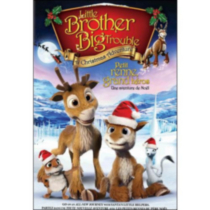 Little Brother, Big Trouble: A Christmas Adventure (Bilingual)