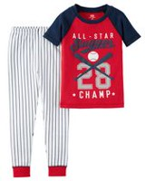 Child of Mine made by Carter's Toddler Boys' 941G049 2-Piece Baseball Pyjama 4T