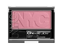 NYC New York Color Cheek Glow Blush Powder Park Slope Pink