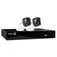Defender HD 1080p 4 Channel 1TB DVR Security System and 2 Bullet Cameras
