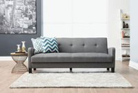 Hometrends Grey Futon Sofa Bed