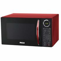 RCA 0.9 Cu Ft Microwave, Red