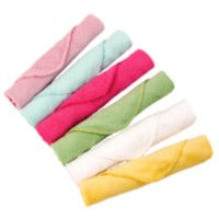 Wash Cloths - Girl - 6 Pack