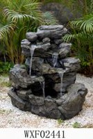 hometrends Rockfall Patio Fountain