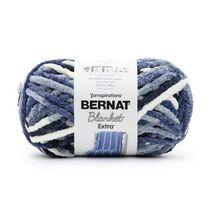Bernat Blanket Extra Yarn, Black, 10.5oz(300g), Jumbo, Polyester