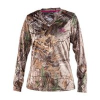 Realtree Women's Long Sleeve Wicking T-Shirt S