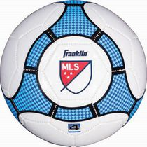 MLS Soccer Ball - White/Blue