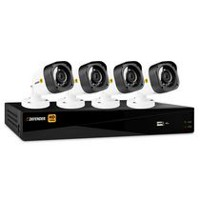 Defender HD 1080p 8 Channel 1TB DVR Security System and 4 Bullet Cameras