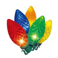 Holiday time Ultra Bright LED C9 Light Set