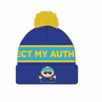 South Park Cartman Cuff Pom Beanie