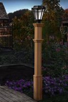 New England Arbors Burton Lamp Post - VA94431