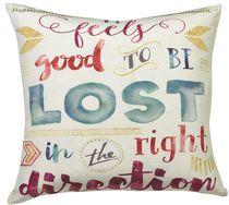 Ivory Park Wa Lost Direction Decorative Throw Cushion