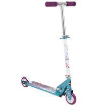 Huffy Disney Frozen 2 two wheel aluminum Girls folding inline scooter