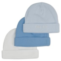 Gerber Newborn Textured Cap, Pack of 3
