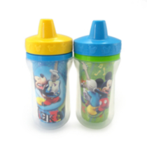 Mickey Insulated 9 oz. Sippy Cup 2PK