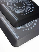 "Floortex AFS-TEX System 2000 Standing Desk Anti-Fatigue Mat 20"" x 32"", Grey Gray or Black"