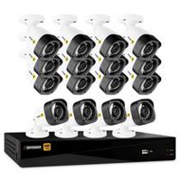Defender HD 1080p 16 Channel 2TB DVR Security System and 16 Bullet Cameras