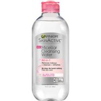 Garnier SkinActive Micellar Water All-In-1 Cleansing Water Make up Remover, Cleanser & refreshes