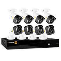 Defender® HD 1080p 16 Channel 2TB DVR Security System and 8 Bullet Cameras