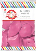 Ballons de qualité hélium en latex de PARTY-EH! de 12 po Couleur rose