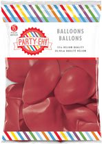 "PARTY-EH! 12"" Helium Quality Latex Balloons Red"