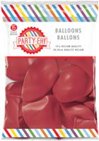 Ballons de qualité hélium en latex de PARTY-EH! de 12 po Rouge