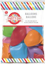 Ballons de qualité hélium en latex de PARTY-EH! de 12 po Assorti