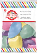 "PARTY-EH! 12"" Helium Quality Pearl Balloons Pearl"