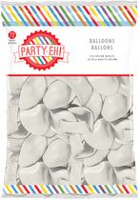 "PARTY-EH! 12"" Helium Qulaity Latex Balloons White"
