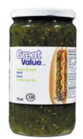Great Value Sweet Green Relish