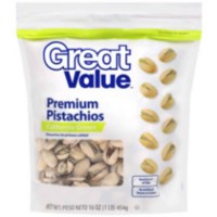 Great Value Roasted and Salted Pistachios
