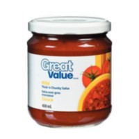 Great Value Thick'N Chunky Mild Salsa