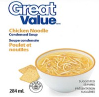 Great Value Chicken Noodle Condensed Soup