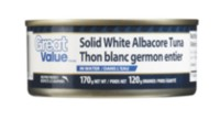 Thon blanc entier Great Value